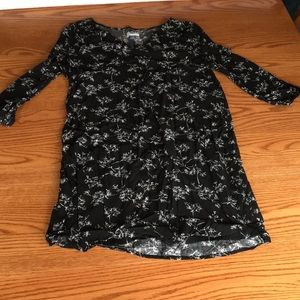 Old navy black and white dress